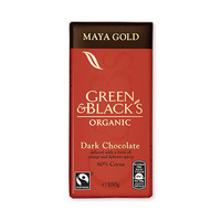 Green & Black''s Organic Dark Chocolate Maya Gold 100GR