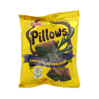 Oishi Pillows Choco-Filled Crackers 38g