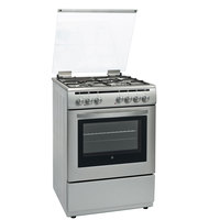 Hoover 60X60 Cm Gas Cooker 3Burners 1hot Plate Electric Oven