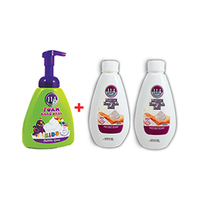 Amatoury Liquid Soap Kids Bubble 400ML + Refill 300ML Free x2