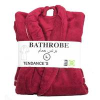 Tendance's Bathrobe Large Burgundy