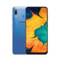 سامسونج سمارت فون A30 نانو ثنائي الشريحة 64 جيجا بايت أندرويد لون أزرق