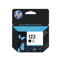 HP 123 Black Ink Advantage Cartridge