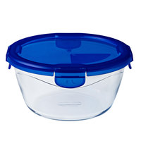 Pyrex Cook&Go Round With Lid 1.6L