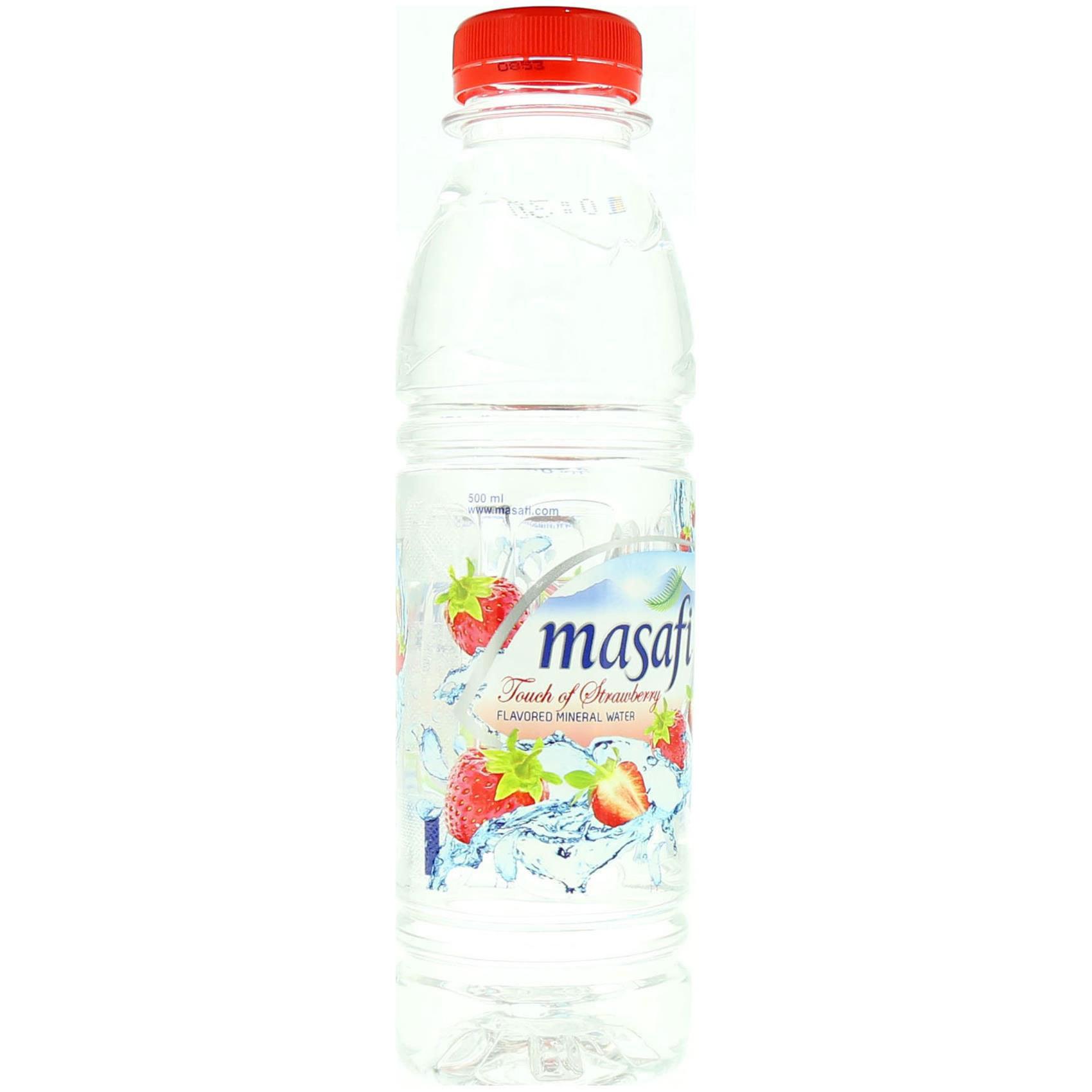 MASAFI WATER STRAWBERRY 500ML
