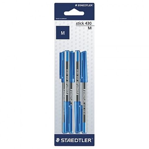 Staedtler-Ball-Point-Pen-Blue-Pack-Of-6-Pieces