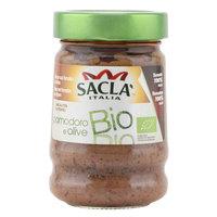 Sacla Italia Bio Olive & Tomato 190g