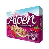 Alpen Cereal Bar Rasberry Yogurt 29GR X 5