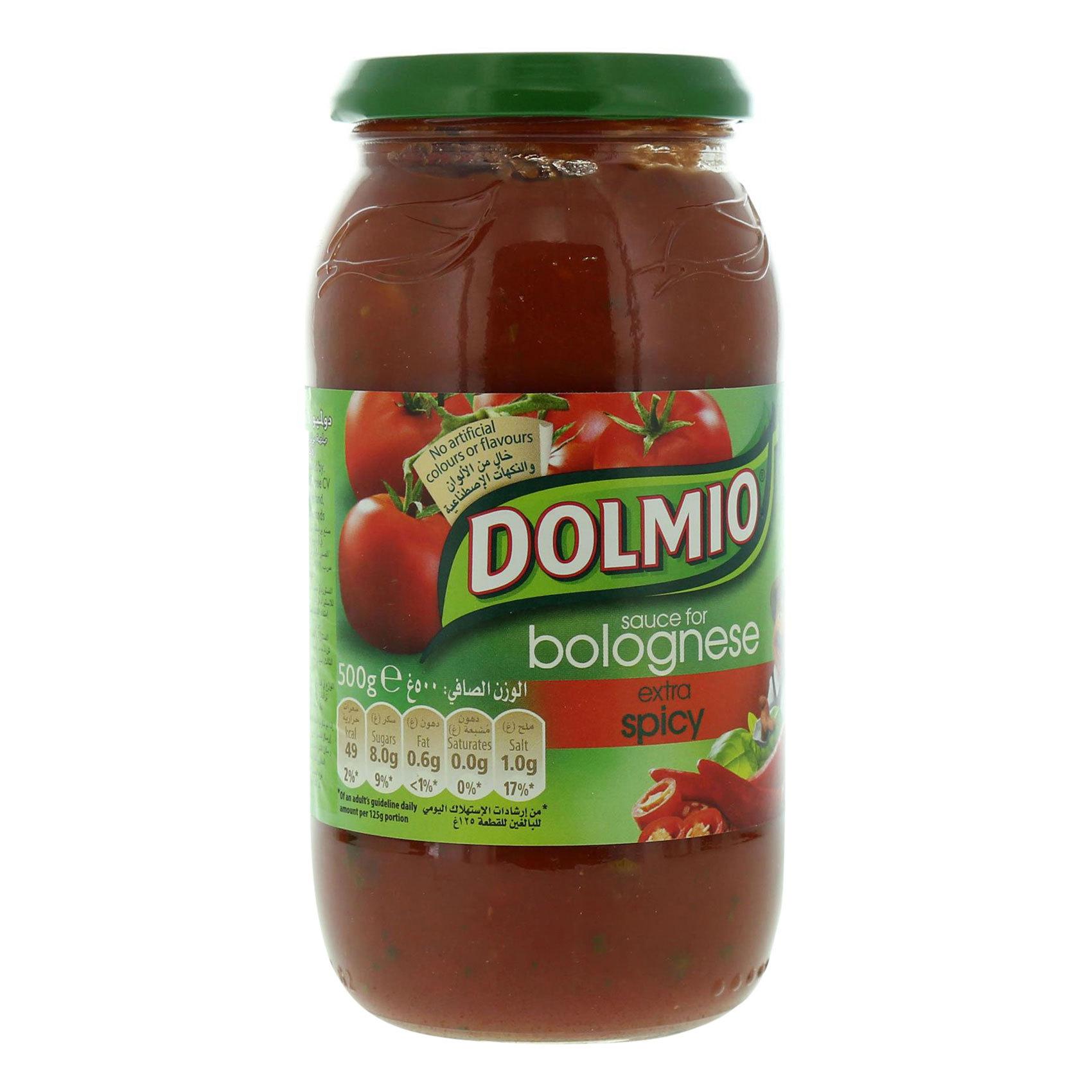 DOLMIO SAUCE XTRA SPICE 500GR