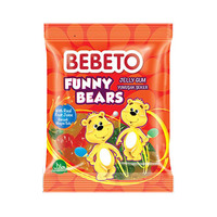 Bebeto Jelly Gum Funny Bears 80GR