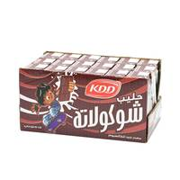Kdd Milk Chocolate long life 180 ml x 18 Pieces