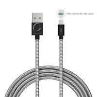 Cellairis Cable Aluminum Duo 0.5M Black