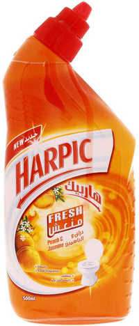 Harpic Peach And Jasmine Fresh Toilet Cleaner 500 ml