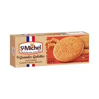 St Michel Grandes Galettes Caramel butter Biscuits 150GR