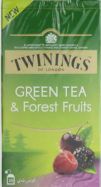 Twinings Green Tea & Forest Fruits 25's