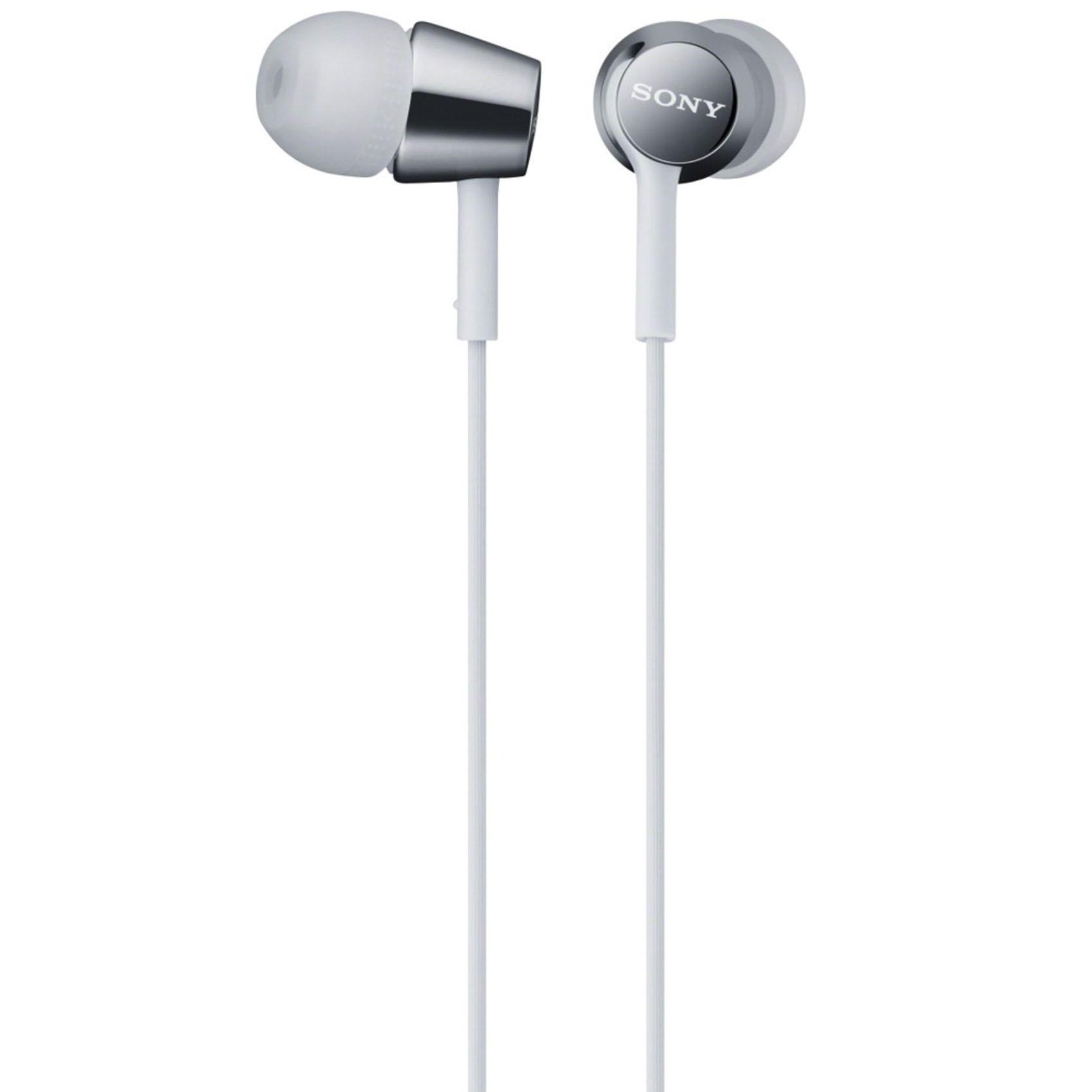 Buy Sony Headphone Mdr Ex150lp White Online In Uae Carrefour Beats Solo Hd1 Headph Mdrex150lp W