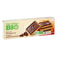 Carrefour Bio Organic Dark Chocolate Tablet 150g