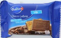Bahlsen Choco Leibniz Milk Biscuit 27.5 g