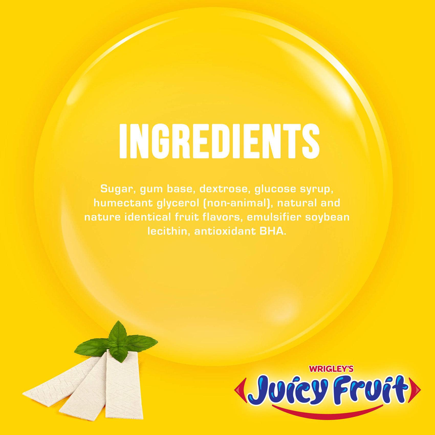 WRIGLEY'S JUICY FRUIT 13GRX20