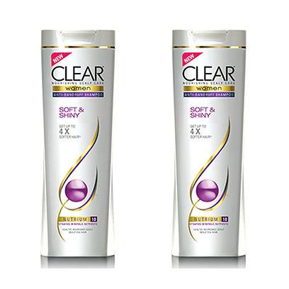 Clear-Shampoo-Soft-&-Shiny-2X360ML--25%-Off
