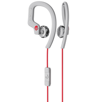 Skullcandy Earphone Chops Hanger Grey  red