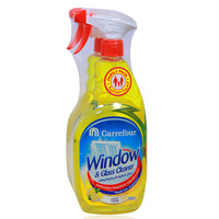 Carrefour Window & Glass Cleaner Lemon 750ml x2