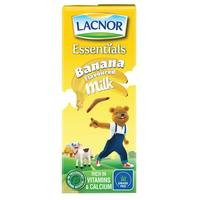 lacnor Uht Milk Banana 180ml