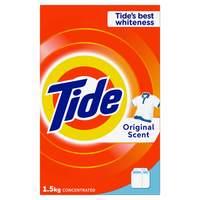 Tide Laundry Powder Detergent Original Scent 1.5kg