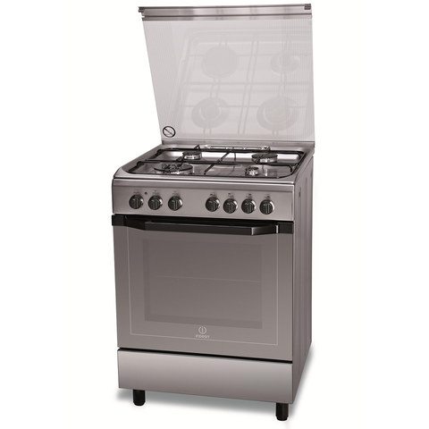 Indesit-60X60-Cm-Gas-Cooker-I6TMH2AFXI-4Burners