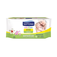 Septona Baby Wet Wipes Sensitive 64 Sheets