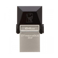 Kingston Data Traveler MicroDuo USB 3.0 64GB Flash Drive