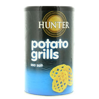 Hunter's Gourmet Sea Salt Potato Grills 100g