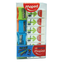 Maped Eraser Technic 300/Vivo Sharpener