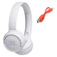 JBL Bluetooth Headphone Tune T500BT White