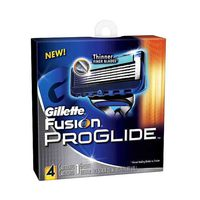 Gillette Fusion Proglide Razor Blades Pack Of 4