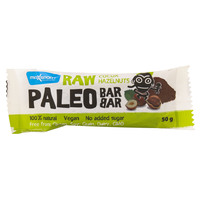 Maxsport Raw Cocoa Hazelnuts Paleo Bar 50g