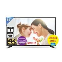 تلفزيون توشيبا سمارت بشاشة إل أي دي بتقنية 4K حجم 65 إنش موديل 65U58650EE لون أسود