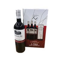 Chateau Ka  Red Wine 750ML X3 + Opener