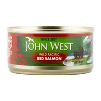 John West Wild Pacific Red Salmon 105g