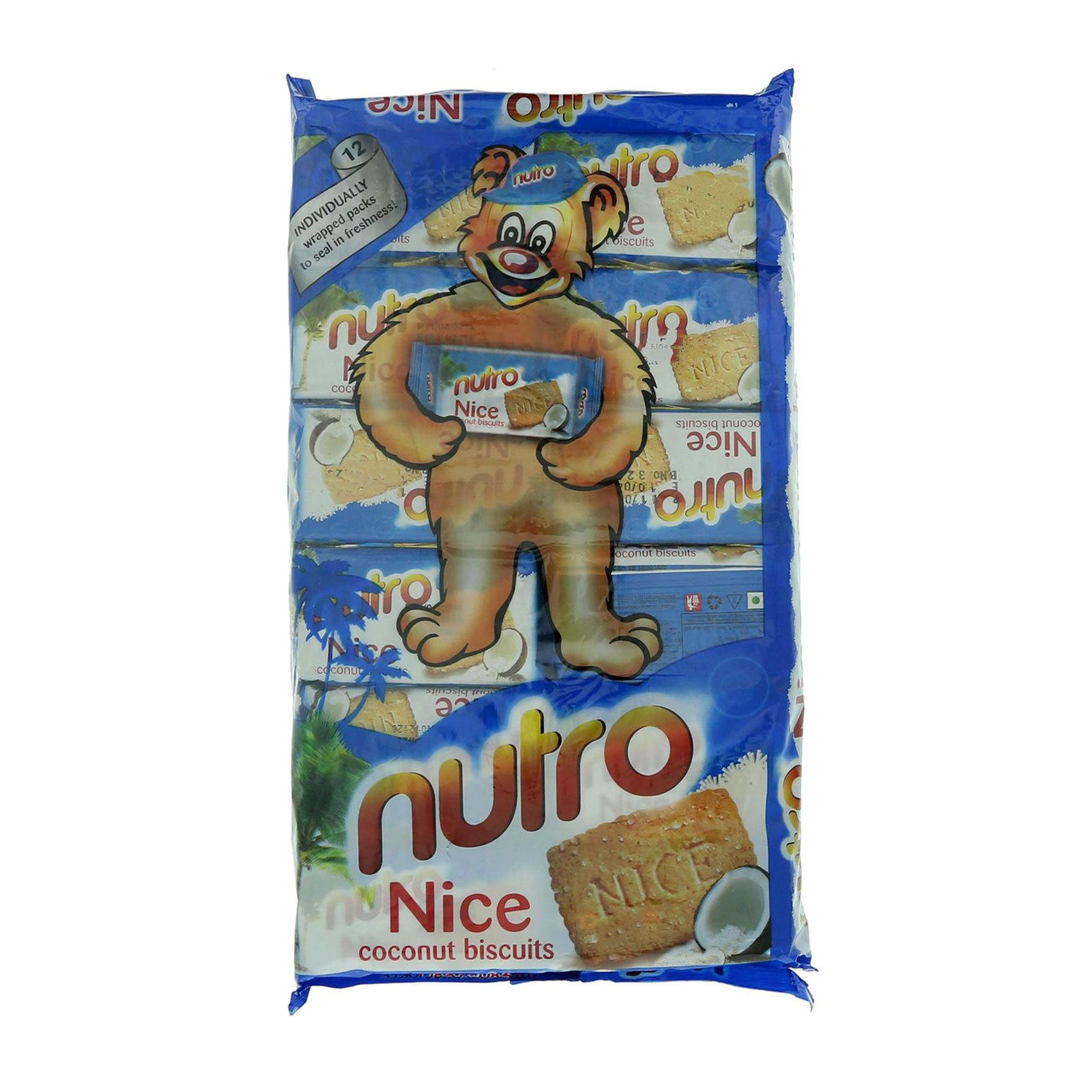 NUTRO BISCUITS NICE 60GRX12