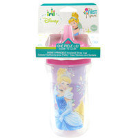 The First Years Princess Insulated Straw Cup