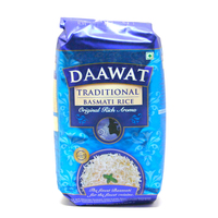 Daawat Traditional White Indian Basmati Rice 1 kg