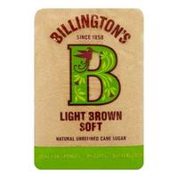 Billington's Light Brown Soft Sugar 500g
