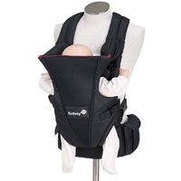 Safety 1st Uni-T Baby Carrier Black/Inside Red
