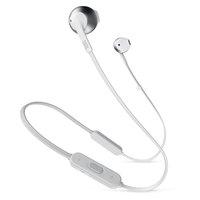 JBL Earbud Bluetooth T205 Silver