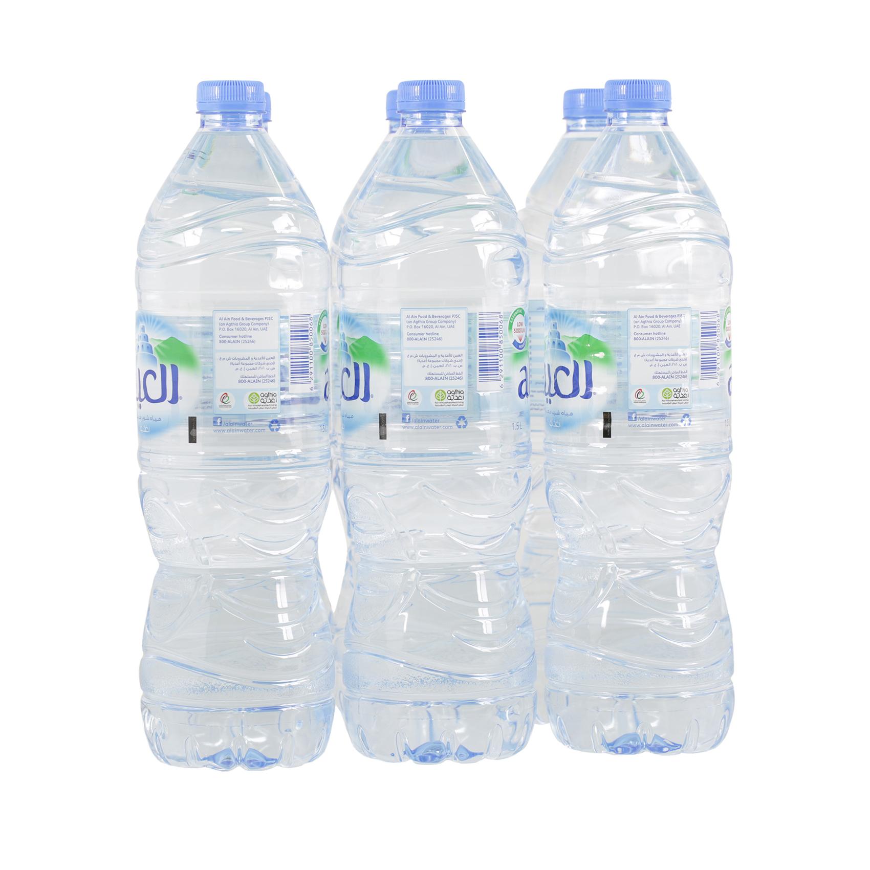 AL AIN MINERAL WATER 1.5LX6