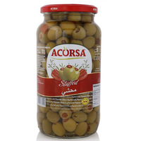 Acorsa Stuffed Green Olives 950g