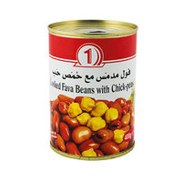 N1 Beans & Chick Peas Cooked 400GR