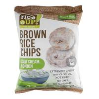 Rice Up! Brown Rice Chips Sour Cream & Onion 60g