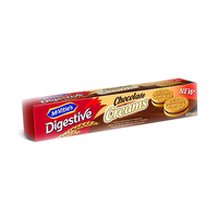 Mcvities Digestive Biscuits With Chocolate Creassm 205GR